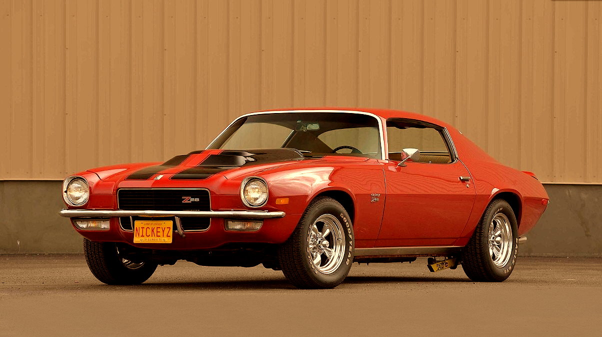 MUSCLE CAR COLLECTION : 1970 Chevrolet Camaro Z28 LT-1 Review