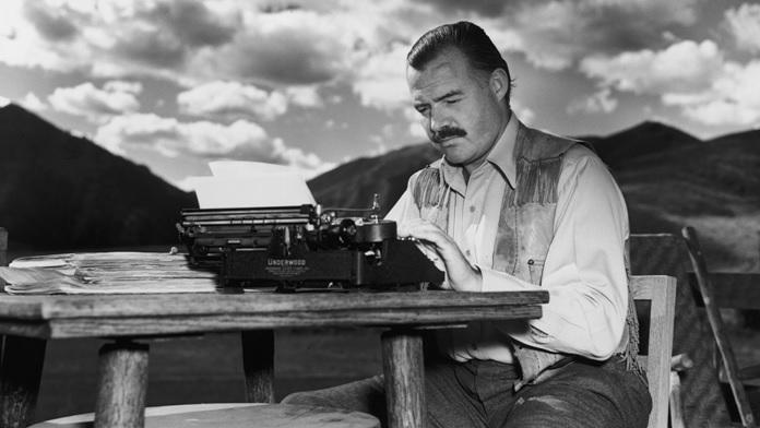 Oggi parliamo di Ernest Hemingway, giornalista e scrittore