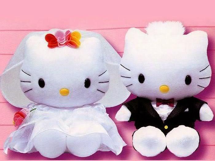 Download gambar boneka hello kitty berpasangan untuk anak