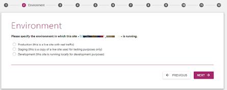 Chọn loại hình phù hợp với mục đích website của bạn