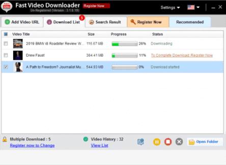 Aplikasi Fast Video Downloader