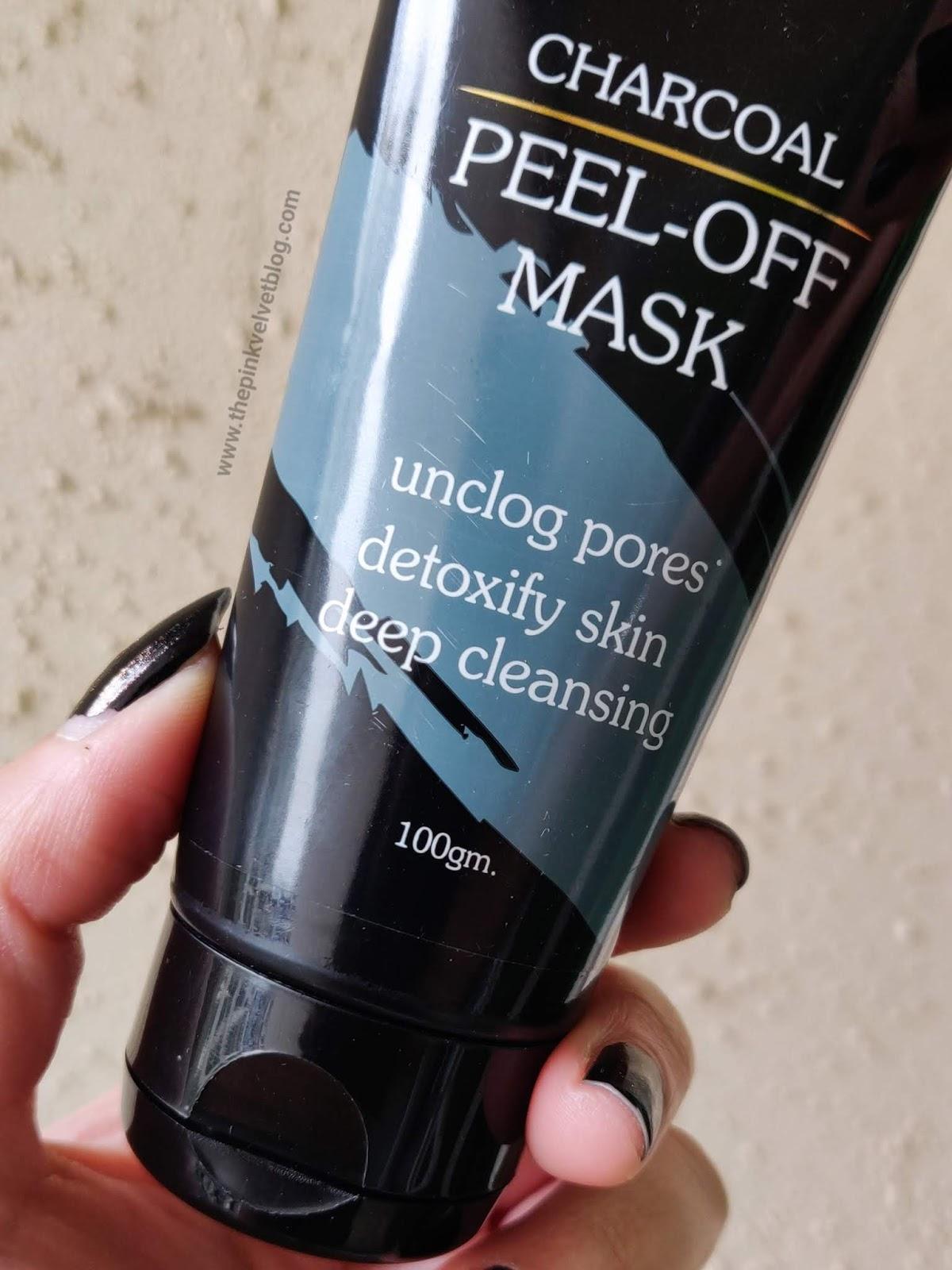 Beard Hood Charcoal Blackhead Peel-off Mask - Review