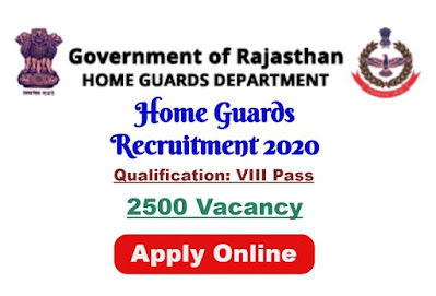 Rajasthan Home Guards Recruitment