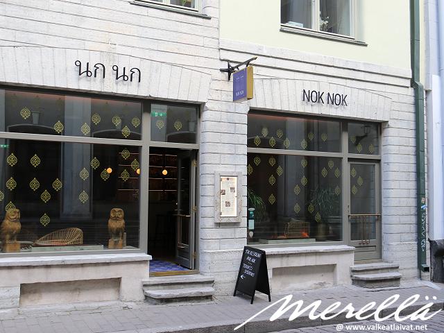 Missä syödä Tallinnassa NokNok Thai