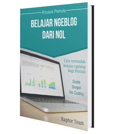 Ebook Belajar Ngeblog Dari Nol