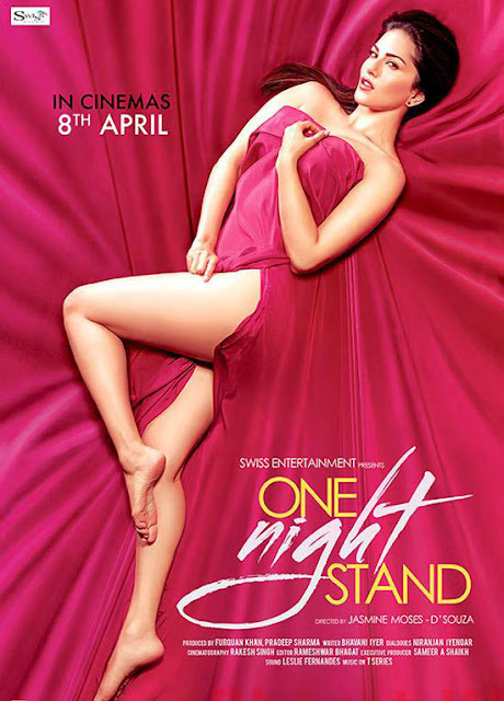 One Night Stand Sunny Leone Movie Poster and Starcast