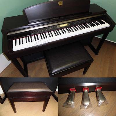Đàn piano điện Yamaha CLP-170