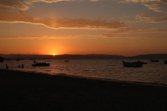 Atardecer en Paracas