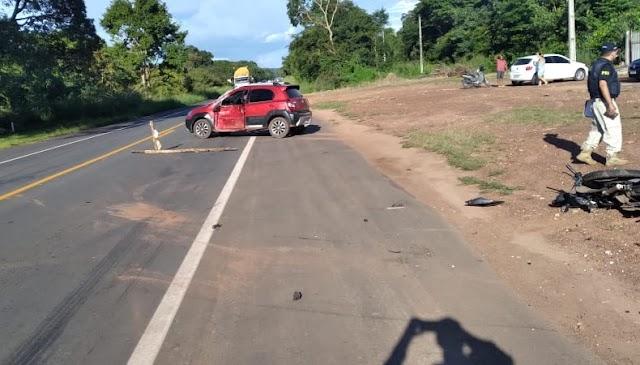 Vídeo mostra acidente que resultou na morte de casal na BR 316