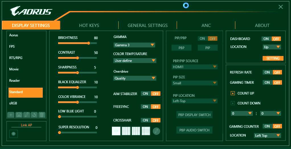 Aorus FI27Q Review  27-inch Gaming Monitor