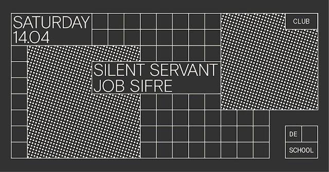 SILENT SERVANT & JOB SIFRE / De School -Amsterdam- [14Abr2018]