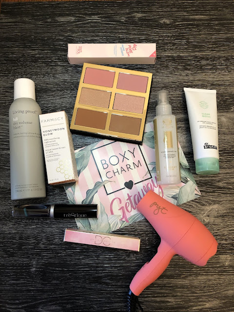 Boxycharm Luxe Box Unboxing  (Boxyluxe June 2019) (Tarte, PYT, Touch in Sol, Living Proof, Dominique Cosmetics and more)