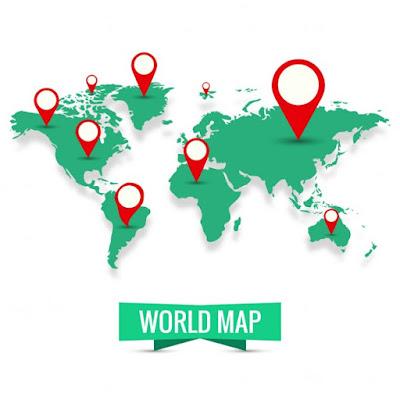 map dunia