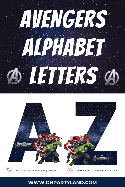 avengers-alphabet