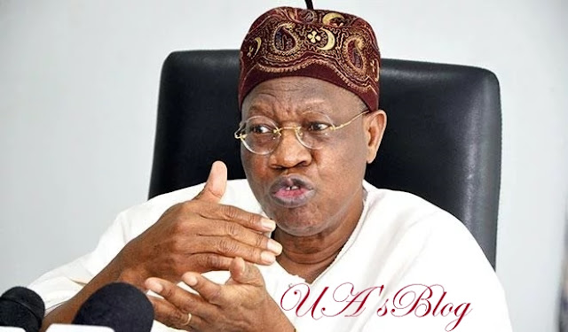 Lai Mohammed Officially Submits Hands Over Note To Permanent Secretary