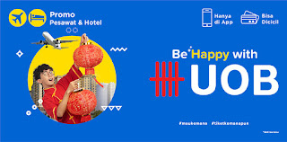 cari tiket dan hotel murah dengan kartu kredit uob