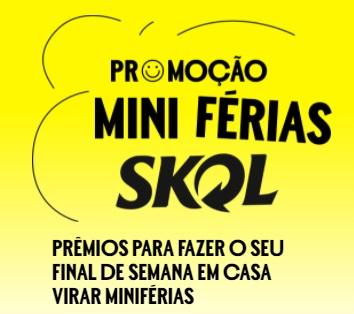 Cadastrar Mini Férias Skol Promoção 2021