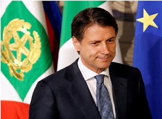 Italy PM Giuseppe Conte