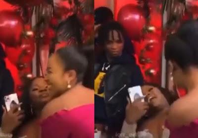Erica ignores Laycon at Dorathy's Party