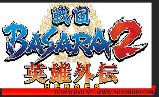 Download File Game PPSSPP Basara 2 Heroes Ukuran Kecil