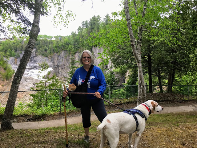 Grand Falls, New Brunswick, tiny trailer camping