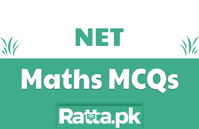 NET Maths Important MCQs Solved pdf Download