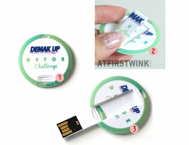 Demak'Up Detox Challenge USB - open maken