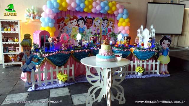 Decoração infantil Princesas Baby Disney - Festa de aniversário