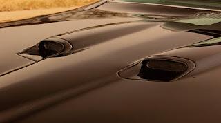 Valiant Black 1970 Pontiac LeMans GTO Hood