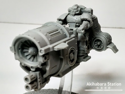 Legionary Saber Jetbike - Kromlech