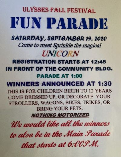 9-19 Ulysses Fun Parade