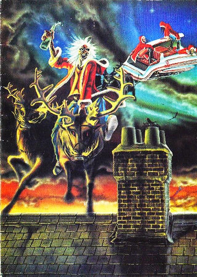 Merry Christmas Conhea Todos Os Cartes De Natal Do Iron