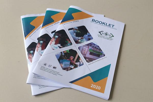 Booklet llaporan kegiatan dan keuangan lazisnu kota pasuruan tahun 2020
