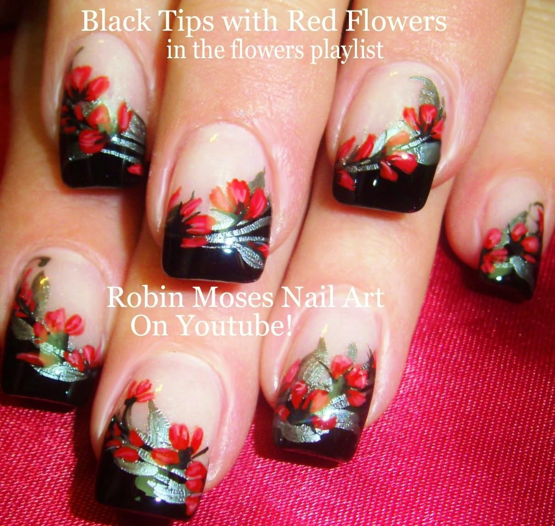 Nail Art By Robin Moses Soft Neutral Floral Nails Prom Nail Art
