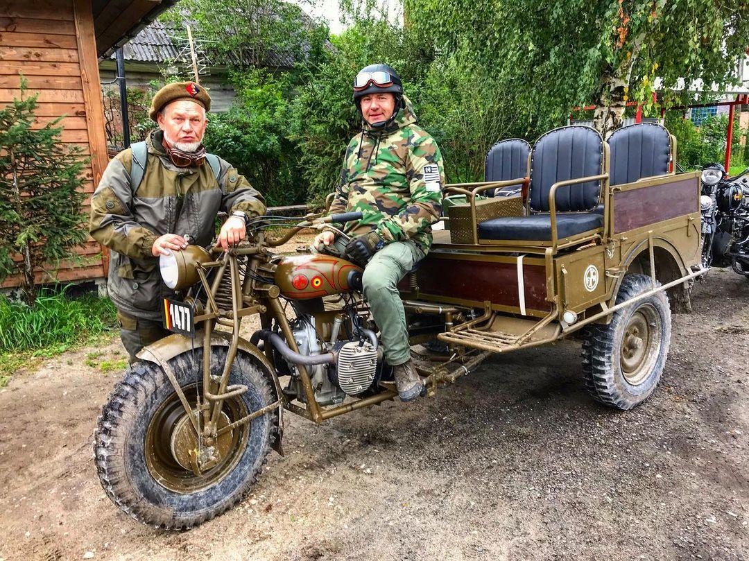 Sejarah Motor Perang FN Tricar 1939 dari Belgia