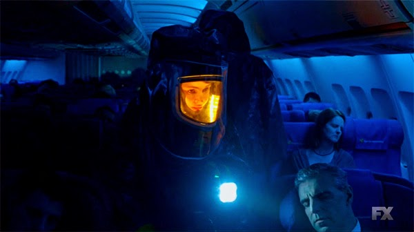 Avion muerto de The Strain 1x01