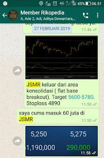 Target saham JSMR