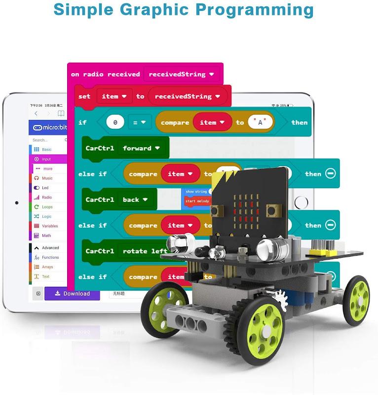 Yahboom Coding Robot 9 in 1 Building Blocks Kit