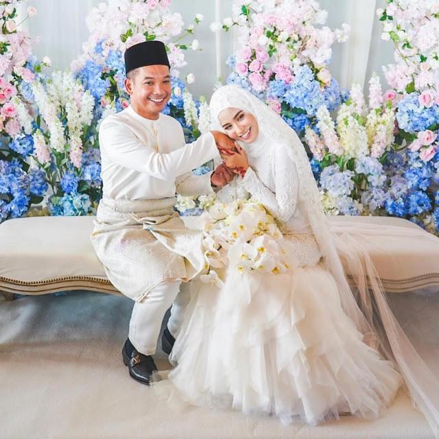 Gambar majlis akad nikah Bella Dally dan Arif Izuddin