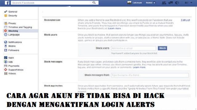 Cara Agar Akun FB Tidak Bisa di Hack