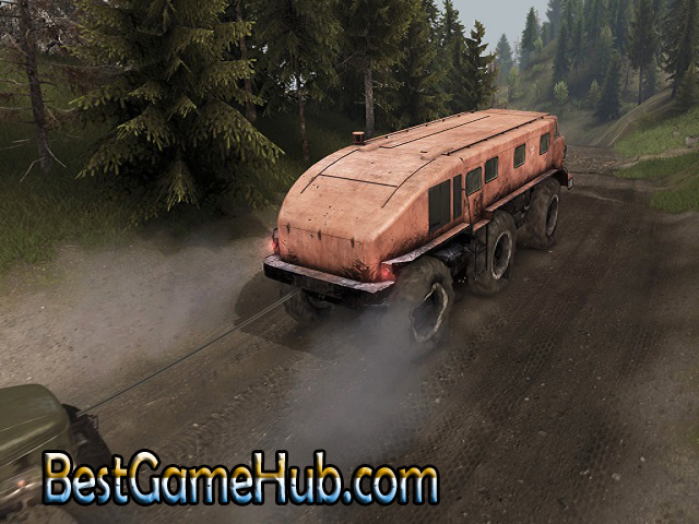 Spintires Canyons Compressed PC Game With Crack Download