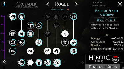 Heretic Gods Ragnarök V1.10.44 MOD APK – PARA HİLELİ