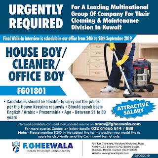 Cleaning & Maintenance Division