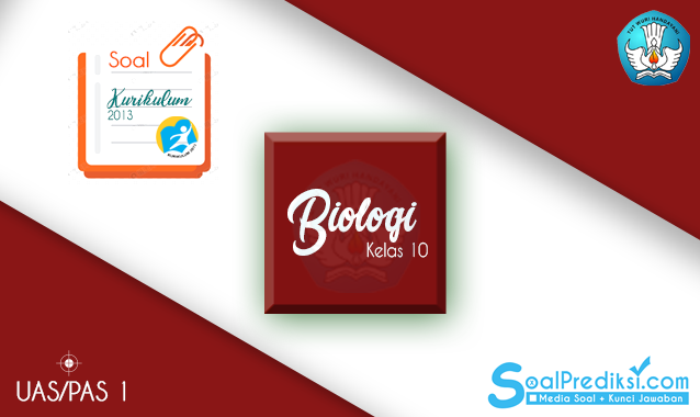 Latihan Soal UAS Biologi Kelas 10 Semester 1 K13 2020 dan Jawaban