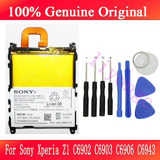 Genuine 3000mAh Battery For Sony Xperia Z1 LIS1525ERPC -L39H LT39H C6902 + TOOLS