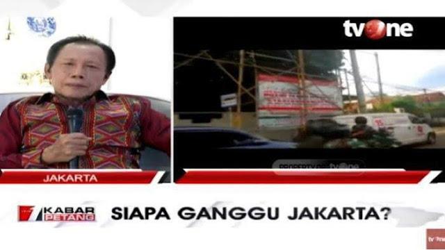 Konvoi Koopsus TNI ke Markas FPI, Bang Yos: Kita Belum Segenting Itu