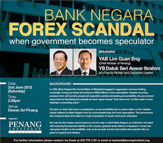 Bank negara forex history
