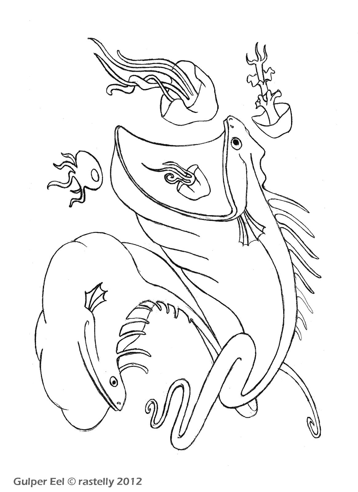 Anglerfisch Malvorlage Anglerfischtätowierung