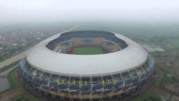 Stadion Gelora Bandung Lautan Api (GBLA), Bandung, Jawa Barat
