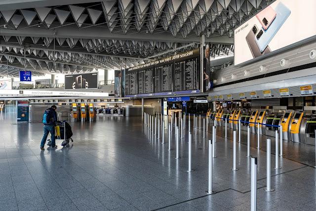تنظيف المطارات بعد جائحة كورونا